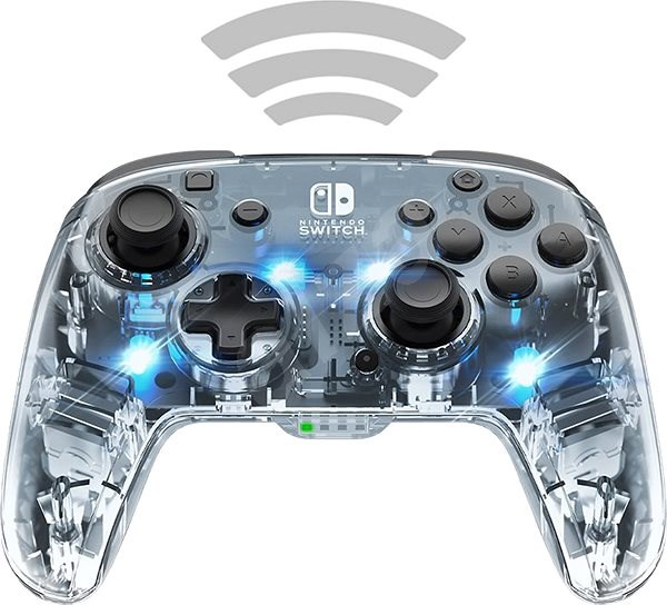 PDP Afterglow Wireless Deluxe Controller - Nintendo Switch - Gamepad