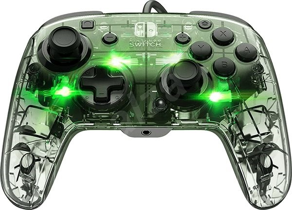 PDP Afterglow Wired Deluxe Controller - Nintendo Switch - Gamepad