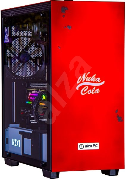 Alza BattleBox RTX2080Ti Nuka Cola - Gaming PC