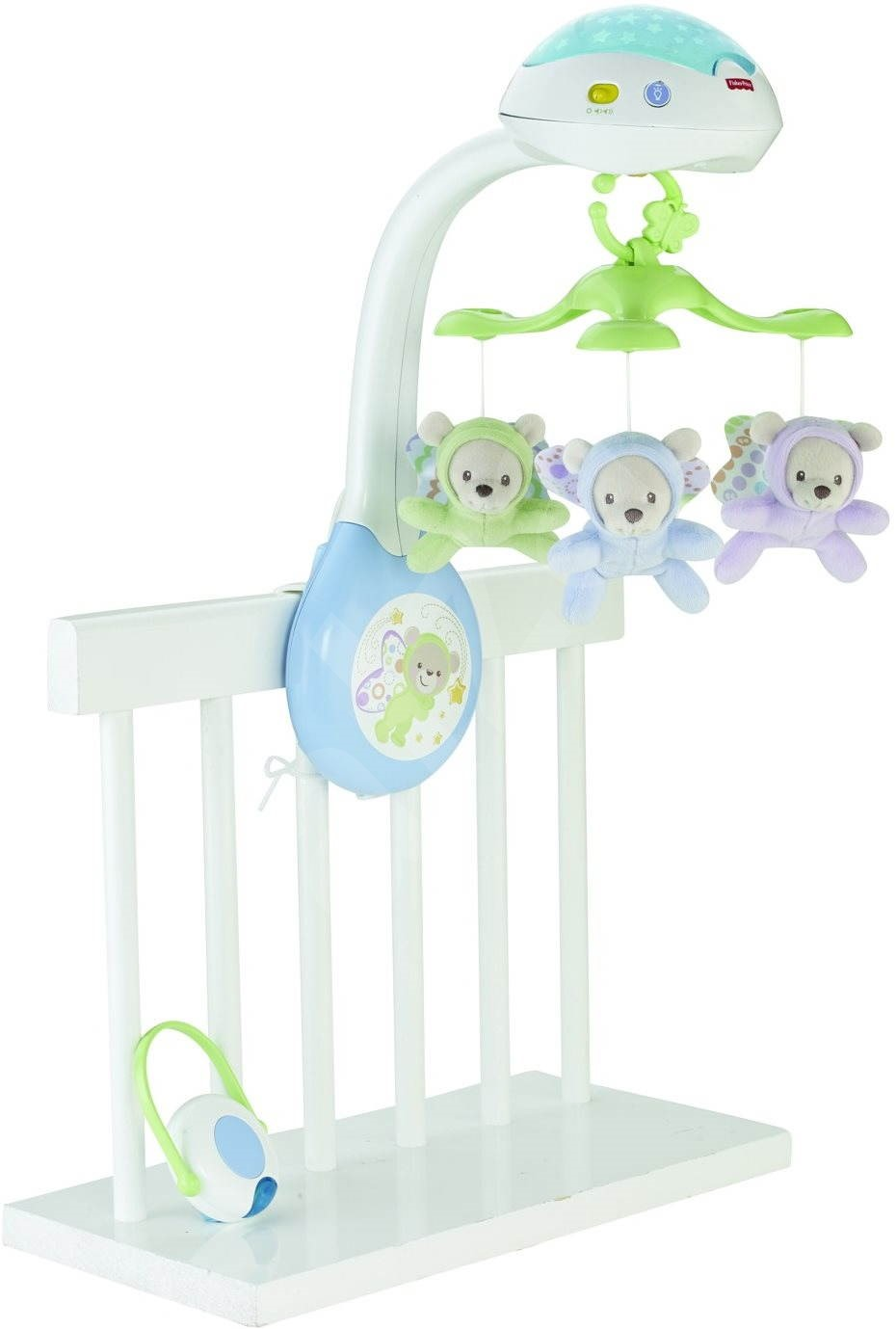 Fisher Price Crib Mobile With Butterflies Cot Toy