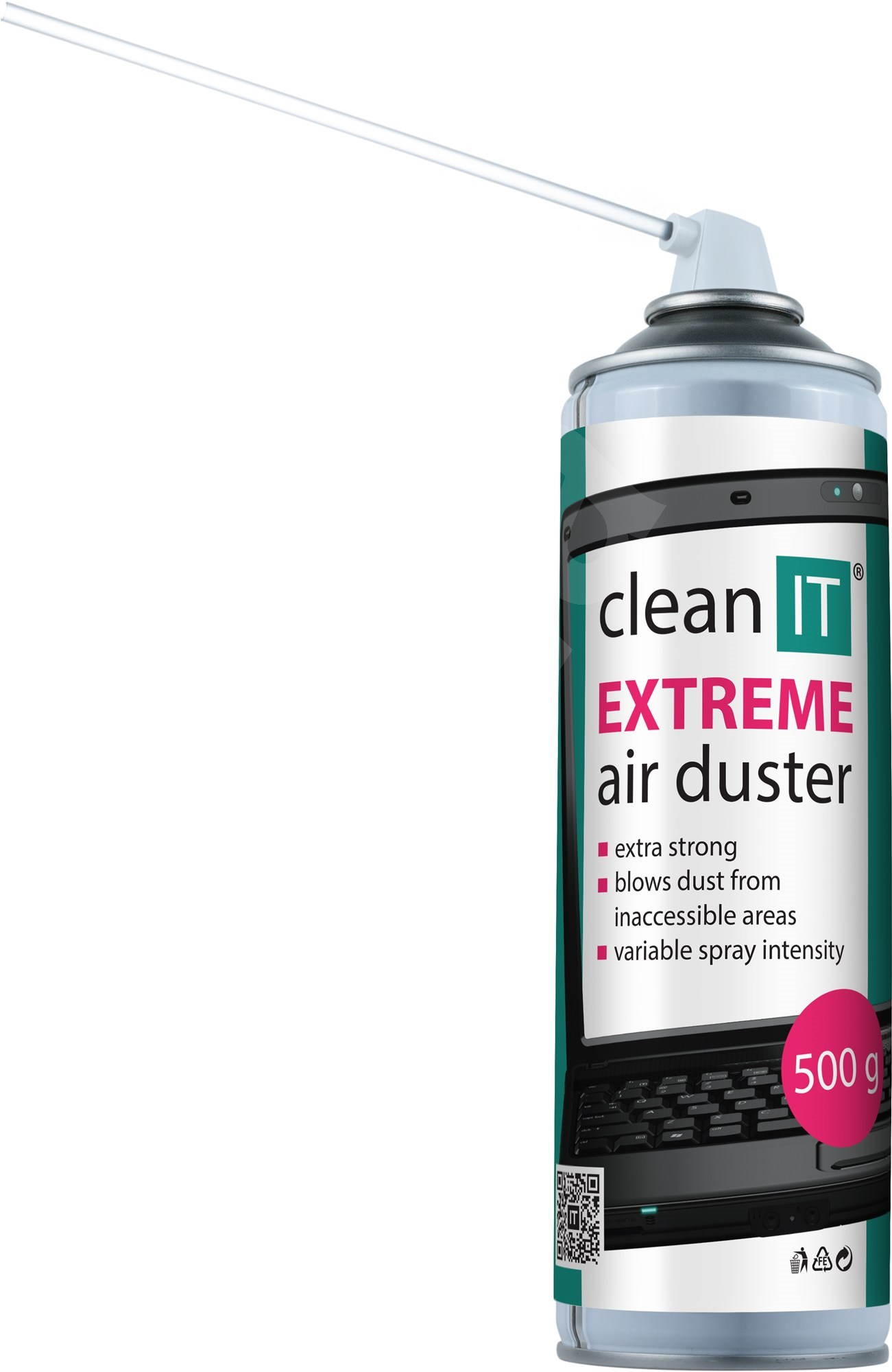 clean it extreme air duster 500g cleaner. Black Bedroom Furniture Sets. Home Design Ideas