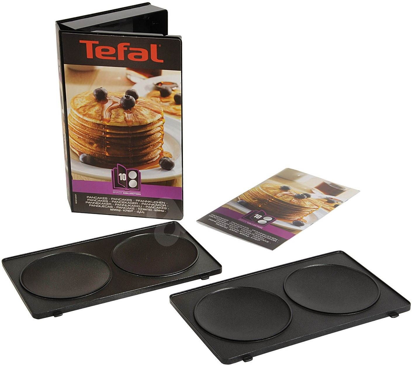 tefal snack collection pancakes box accessories. Black Bedroom Furniture Sets. Home Design Ideas