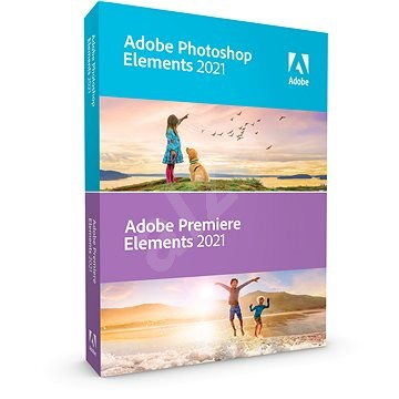 Adobe Photoshop Elements + Premiere Elements 2021 MP ENG upgrade (Electronic License) - Graphics Software