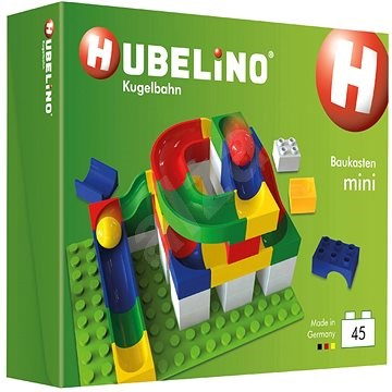 Hubelino Ball Track - Set With Dice Mini 45 Pieces - Ball Track