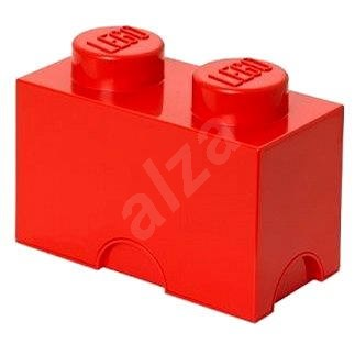 LEGO Storage Box 125 x 250 x 180mm - Red - Storage Box