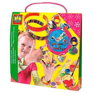 SES Painting Fashion Rings and Bracelets - Jewellery Making Set
