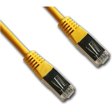 Datacom CAT5E FTP yellow 2m - Network Cable