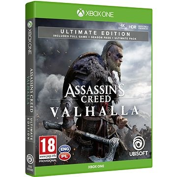 Assassin S Creed Valhalla Ultimate Edition Xbox One Console Game Alzashop Com